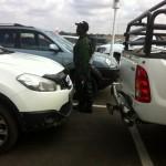 Parkplatz Johannesburg...