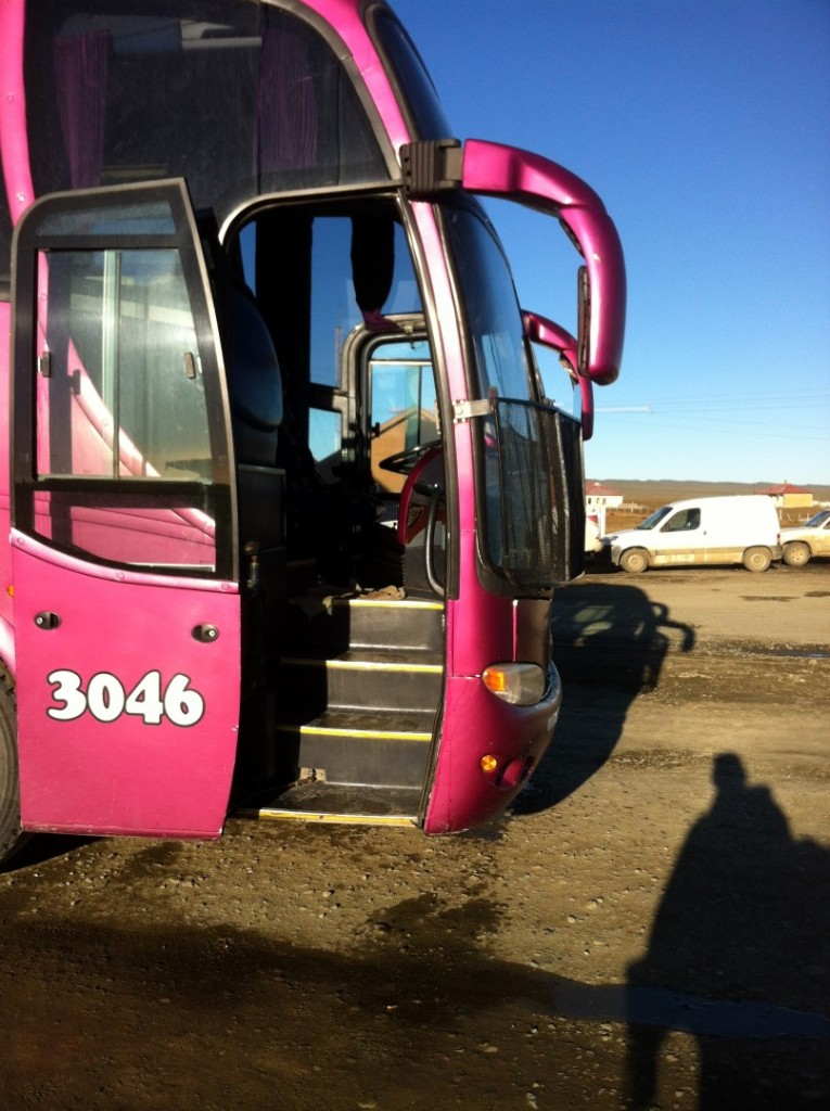 Der Bus nach El Calafate