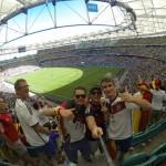 WM-Spiel Deutschland-Portugal