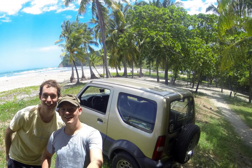 Strand an der Westküste Costa Ricas