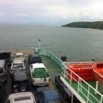 Fähre durch Costa Rica