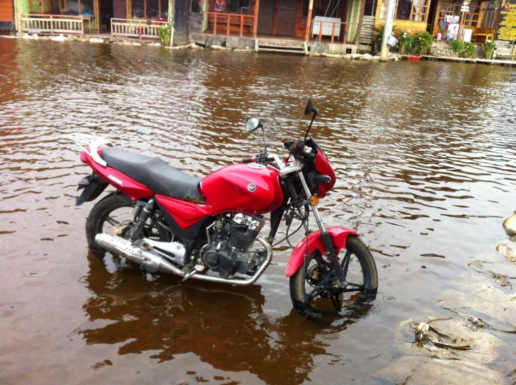 überfluteter See in Pasto
