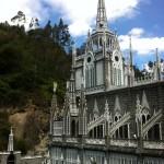 Kirche an der Grenze zu Ecuador