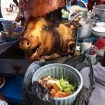 Mittagessen in Quito