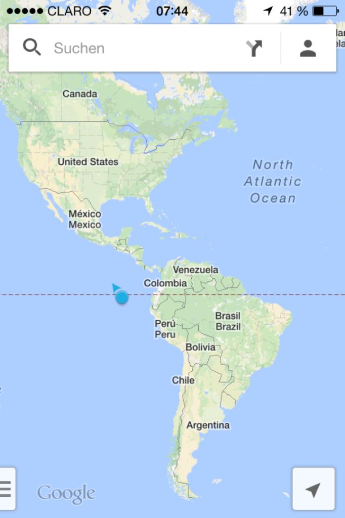 Wo sind eig. die Galapagos Inseln?