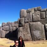 Inka-Ruine um Cusco