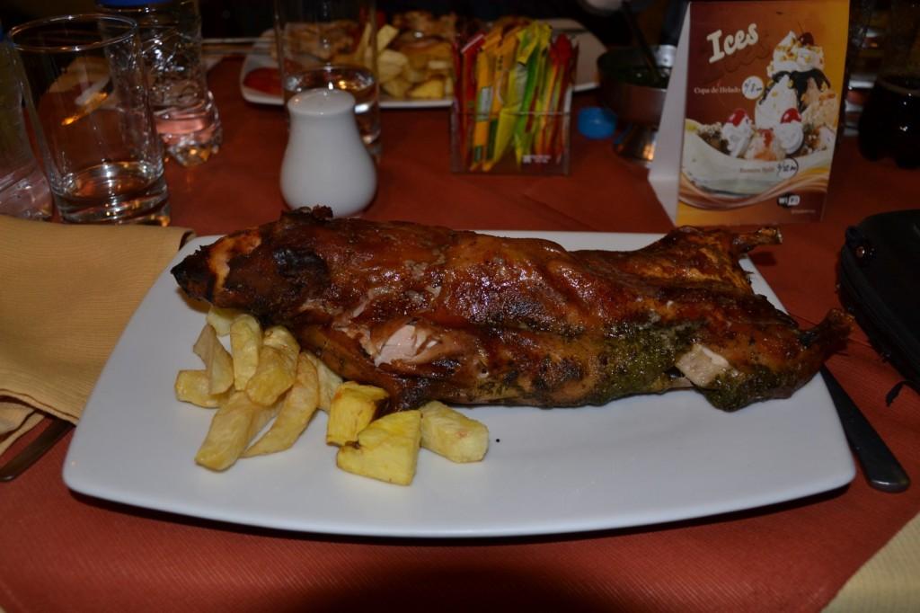 Delikatesse Perus: Das Meerschwein