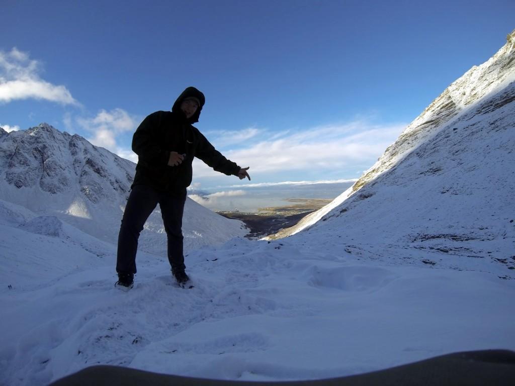 Glacier Martial mit Ushuaia