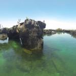 Landschaft der GalapagosInseln