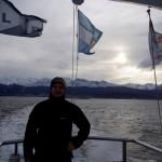 Ushuaia vom Boot aus gesehen