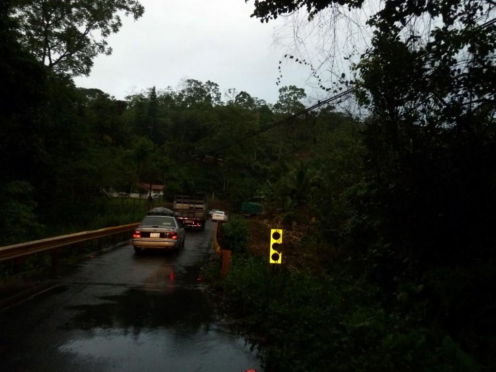 Typische Brücke in Costa Rica