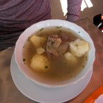 Traditionelles Frühstück in Bucamaranga